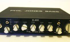 Phil Jones Bass D-400 + PJB cab 47 - TEST