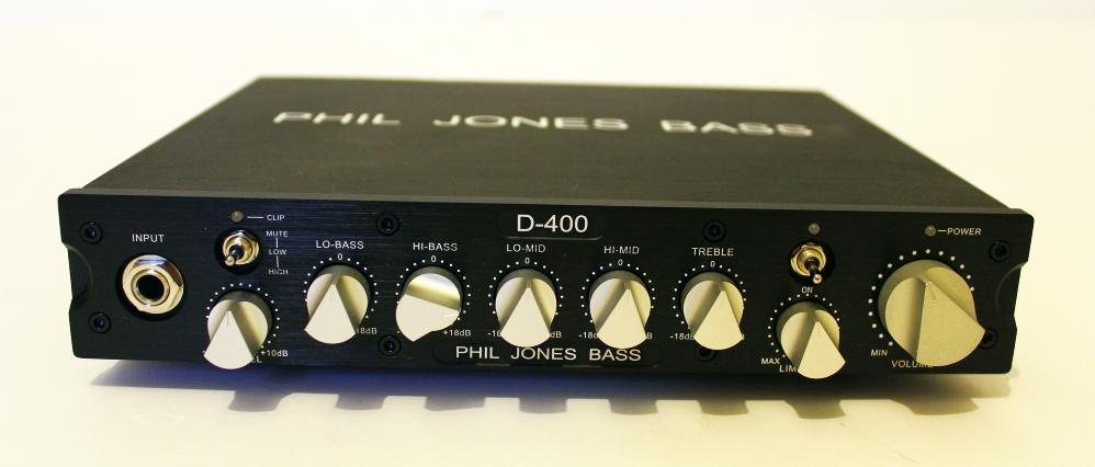 Phil Jones Bass D-400 + PJB cab 47 – TEST