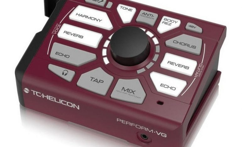 TC Helicon Perform VG - test
