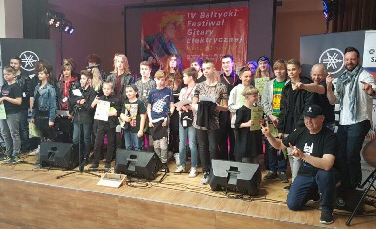 Międzynarodowy konkurs gitarowy w ramach Bałtyckiego Festiwalu Gitary Elektrycznej w Mielnie