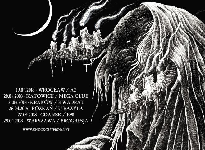 Batushka, Obscure Sphinx, Entropia, 27. kwietnia, B90, Gdańsk