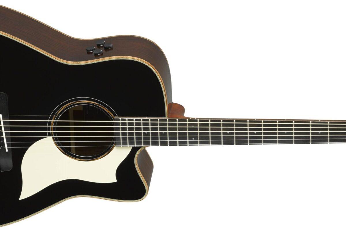 Limitowane wersje gitar Yamaha  A3R i AC3R