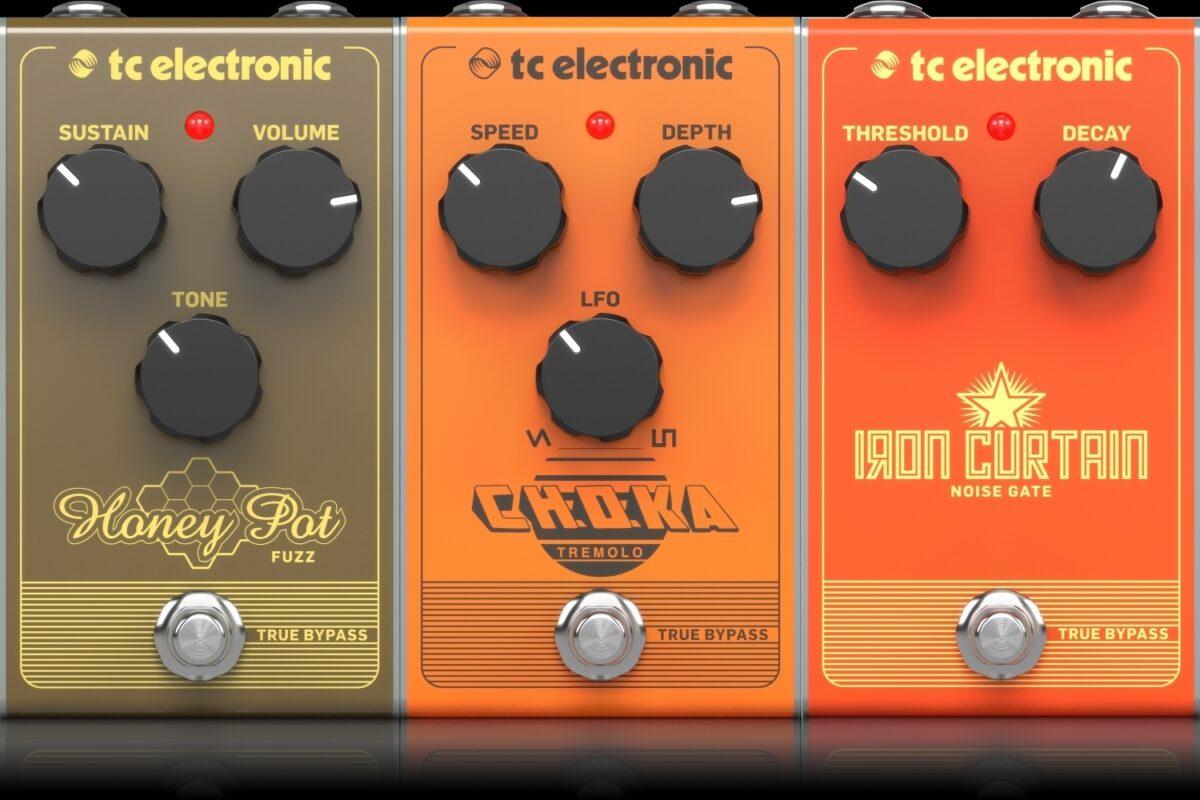 TC Electronic Choka, Honey Pot, Iron Curtain