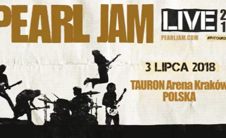 Przypominamy: Pearl Jam 3 lipca zagra koncert w Polsce