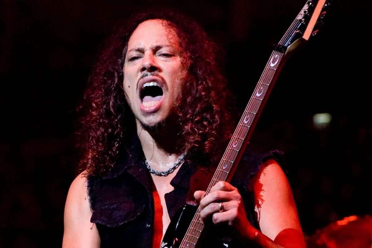 Kirk Hammett – Artysta miesiąca ESP