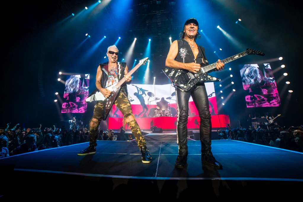 Scorpions zagrali dla Kory