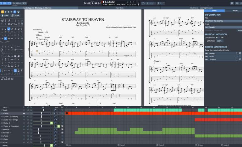 Program Guitar Pro dostępny w wersji 7.5