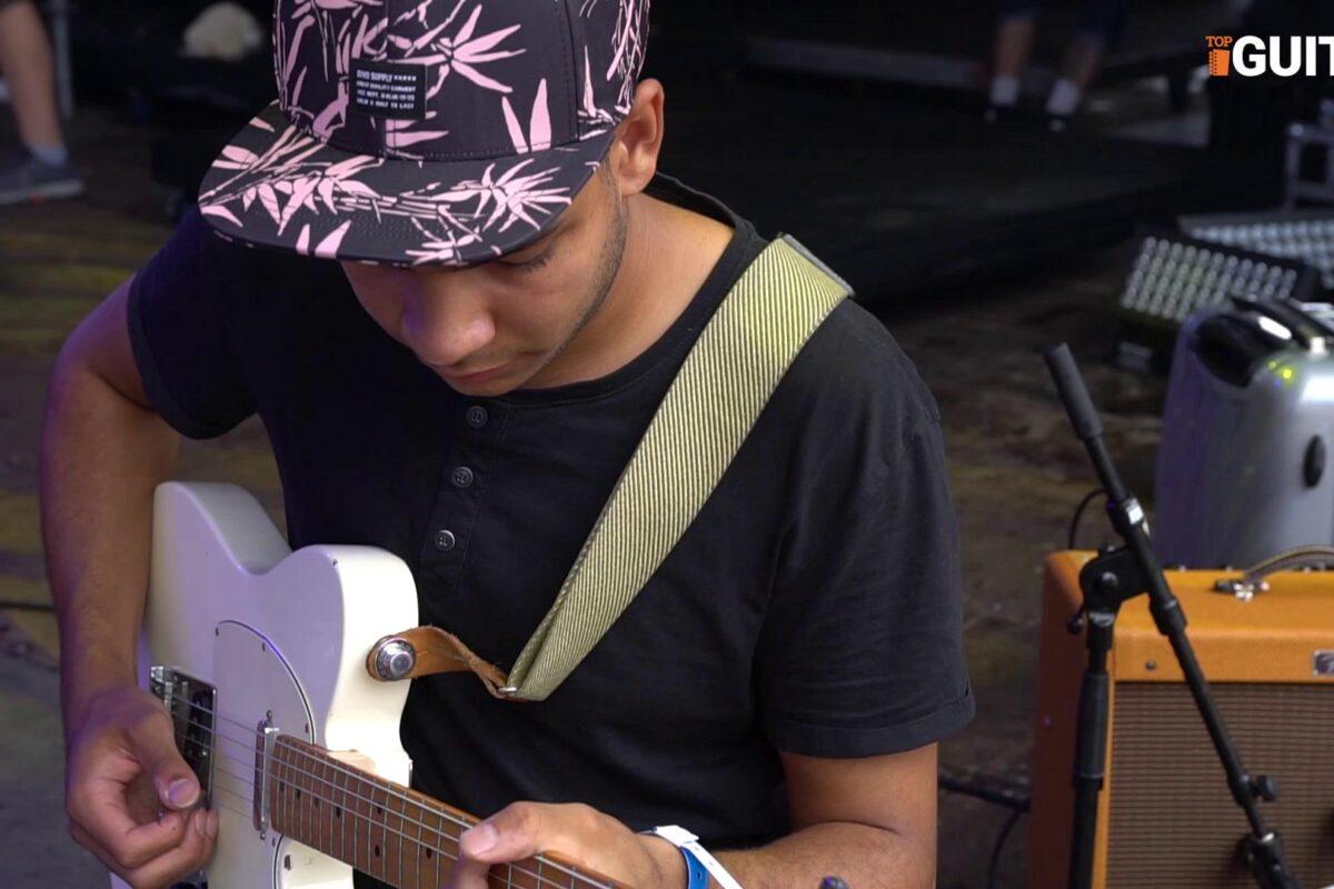 Na czym gra Brian Massaka Victorsson (Moo Latte/Bitamina), czyli gitarowy sprzęt koncertowy