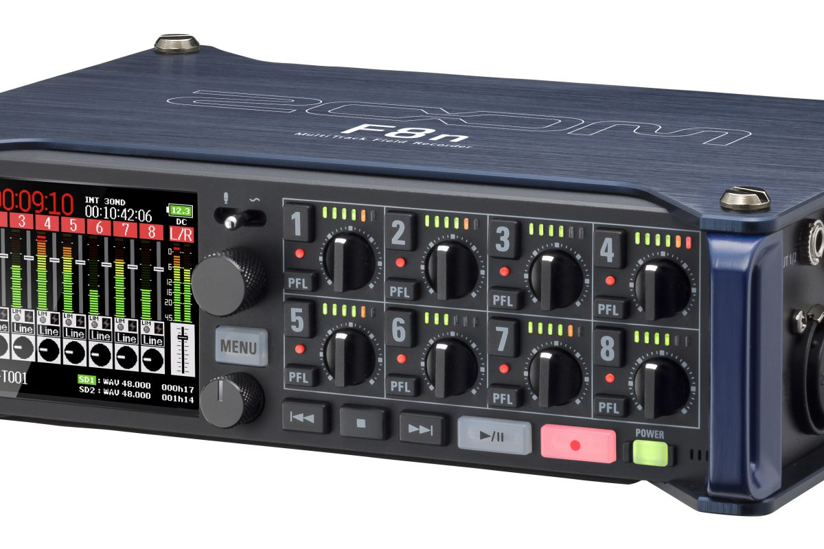 Zoom F8n – rejestrator audio