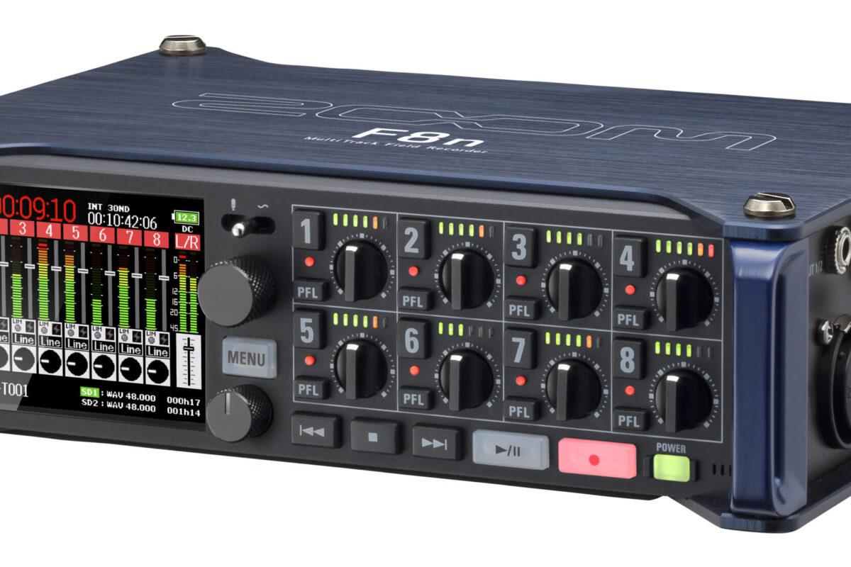 Zoom F8n – rejestrator audio