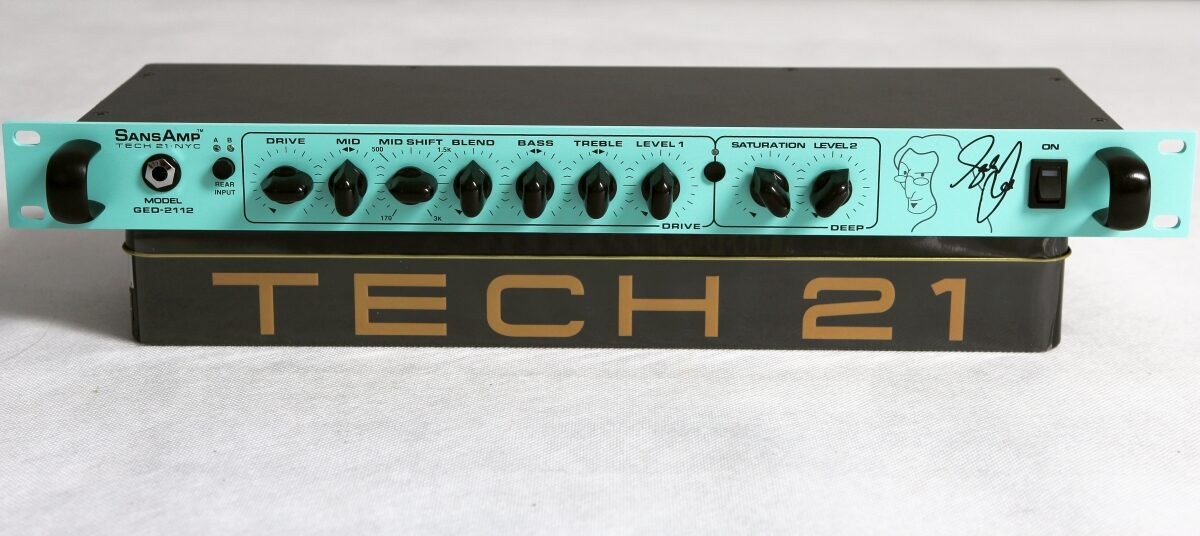 Tech 21 Geddy Lee SansAmp GED-2112 – test