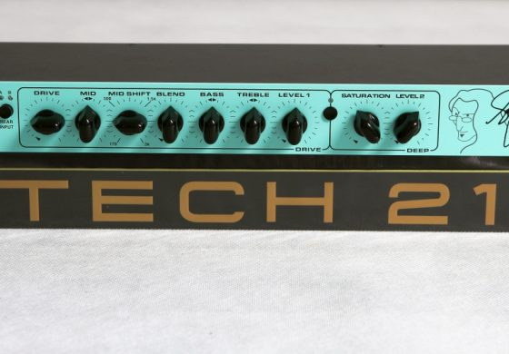 Tech 21 Geddy Lee SansAmp GED-2112 - test