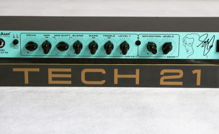 Tech 21 Geddy Lee SansAmp GED-2112 - test