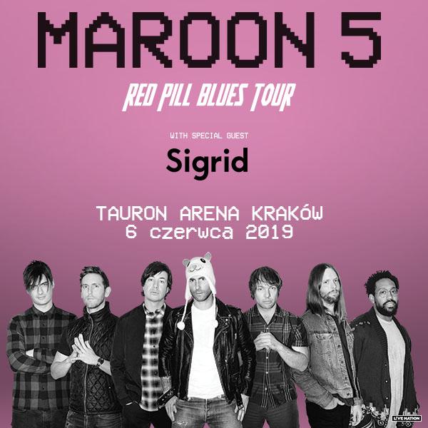 Maroon 5 w Polsce