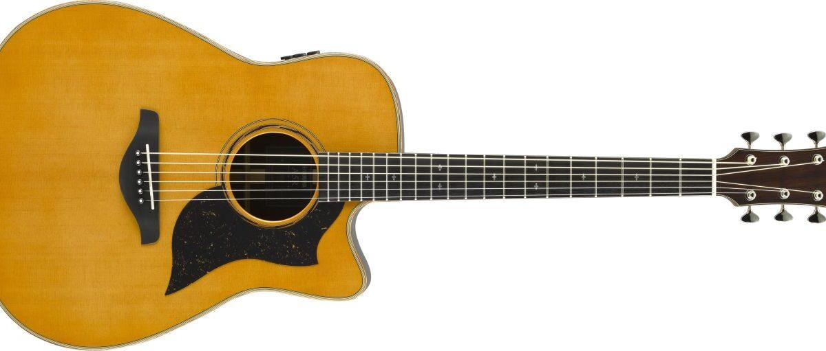 Przetestuj gitary Yamaha A5 w sklepach muzycznych