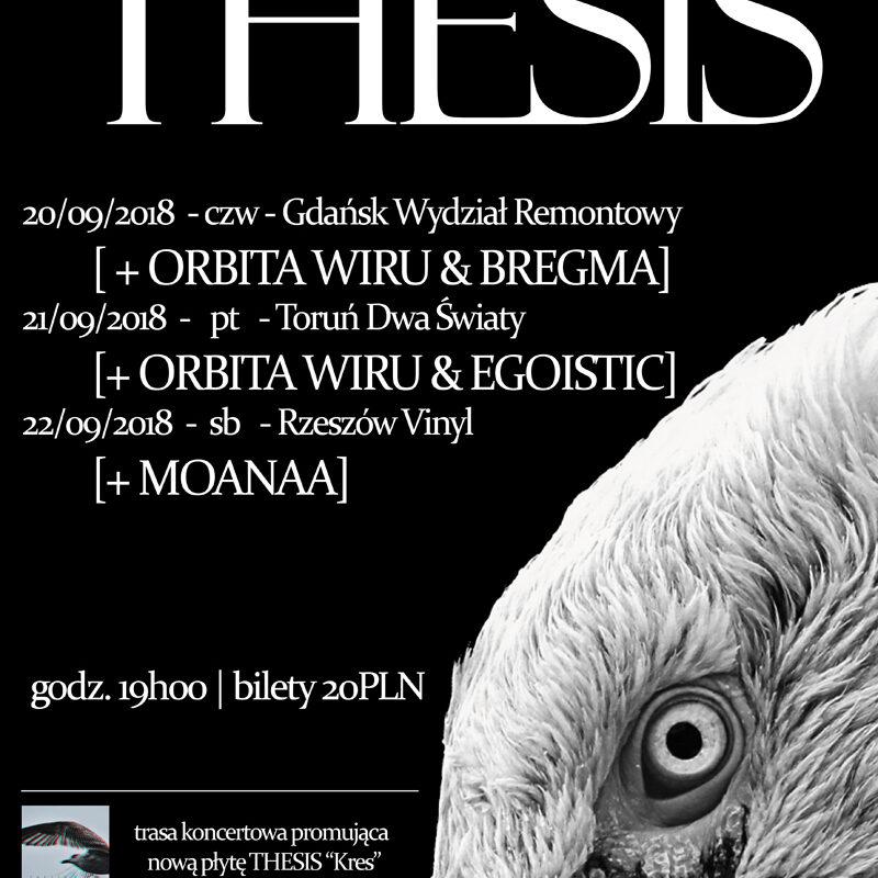 Kolejne koncerty Thesis!