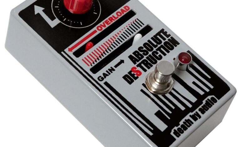 Death By Audio Absolute Destruction - test