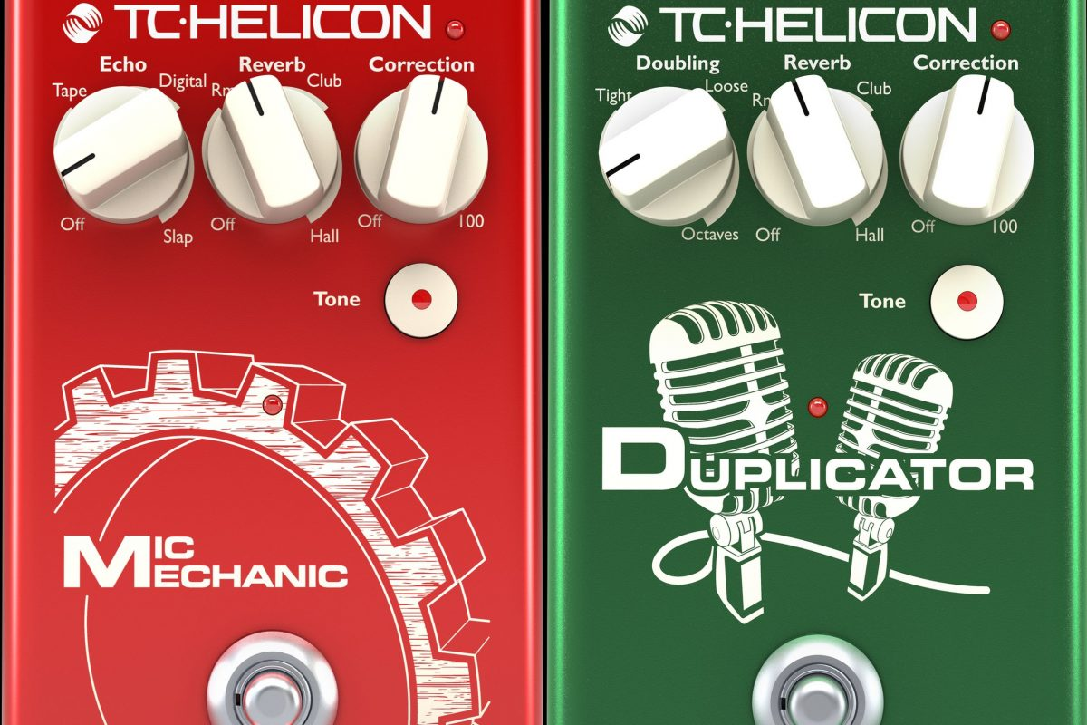 TC-Helicon Mic Mechanic 2 / Duplicator – nowe oprogramowanie