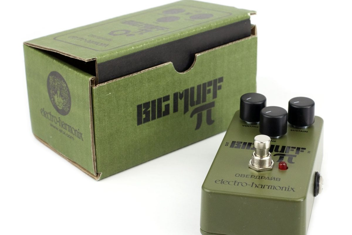 Electro-Harmonix Big Muff Pi Green Russian – test