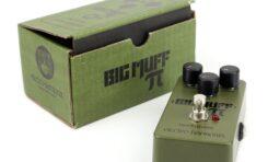 Electro-Harmonix Big Muff Pi Green Russian - test