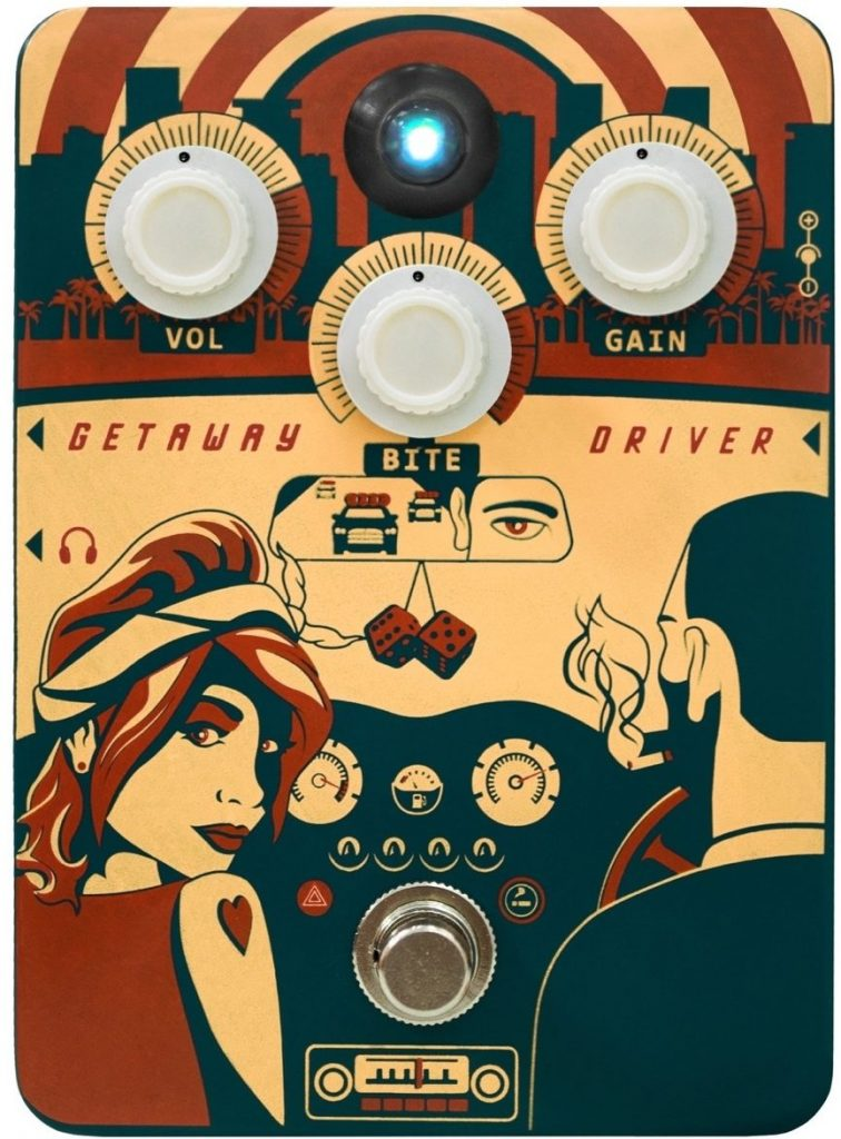 Orange Getaway Driver