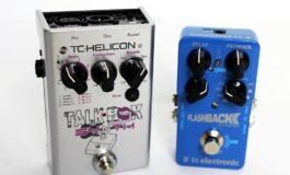TC Electronic Flashback 2 oraz TC-Helicon TalkBox Synth - test