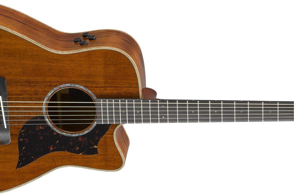 Limitowane gitary Yamaha A4K i AC4K