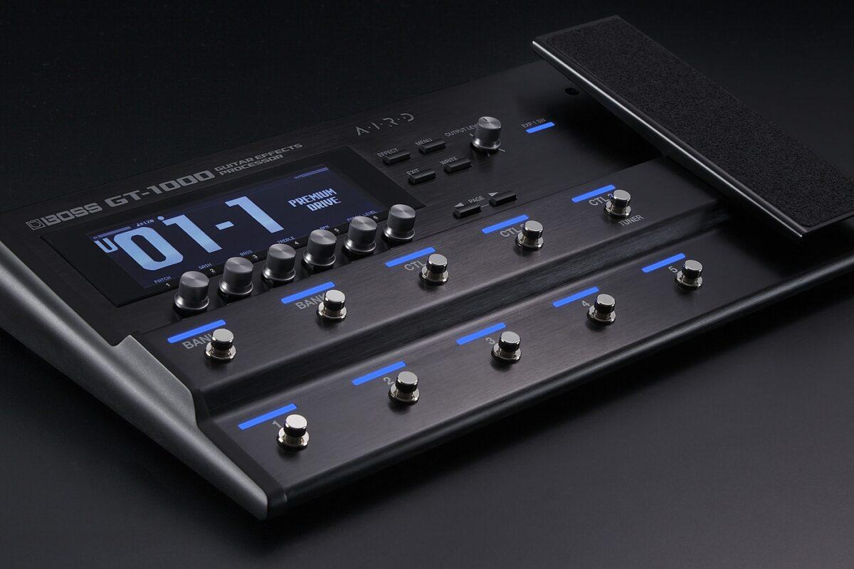BOSS GT-1000 – test i brzmienie (wideo)