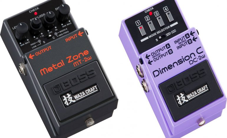 BOSS MT-2W Metal Zone i DC-2W Dimension C