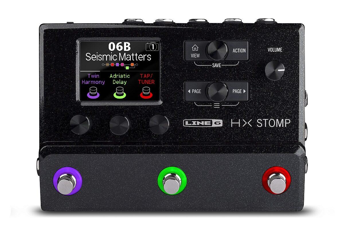Line 6 prezentuje HX Stomp
