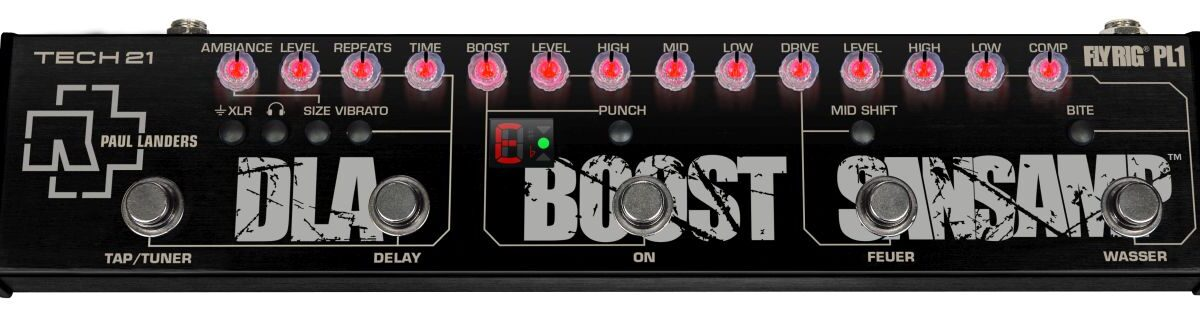 Tech 21 Paul Landers PL1 Signature Fly Rig