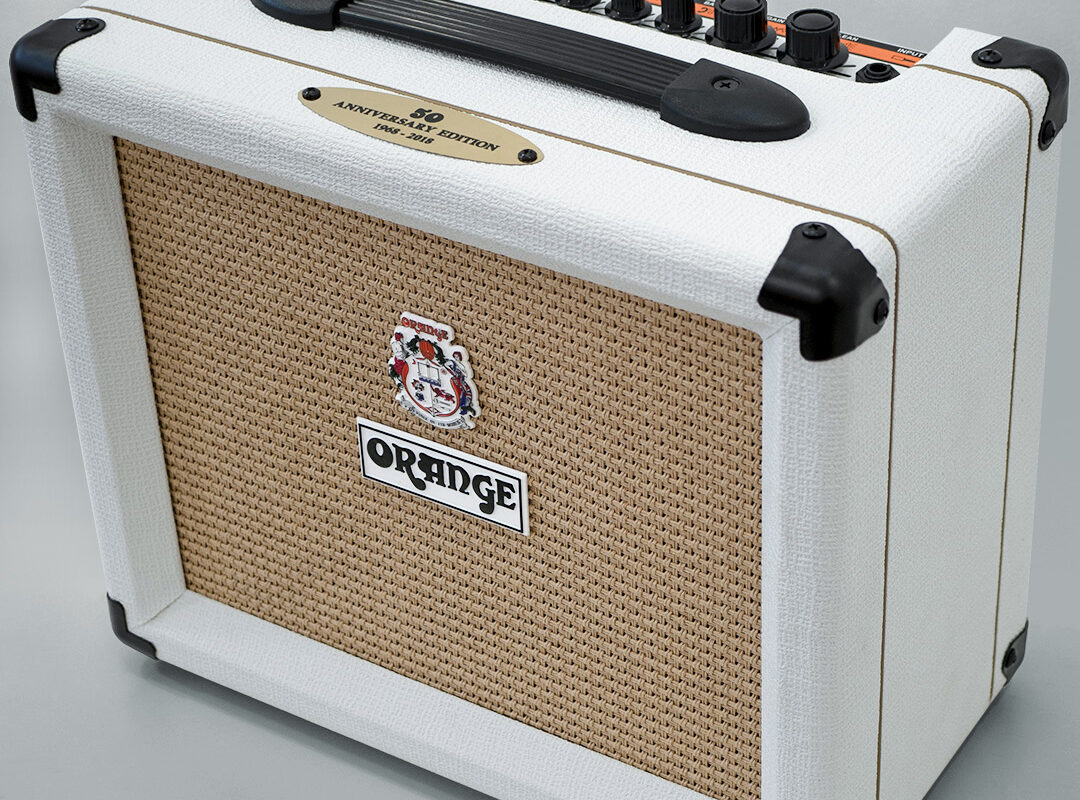 Orange Amplification Limited Edition White Crush 20