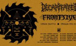 Decapitated, Frontside, Virgin Snatch i Drown My Day w Gdańsku