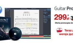 Promocja na Guitar Pro 7.5 przedłużona!