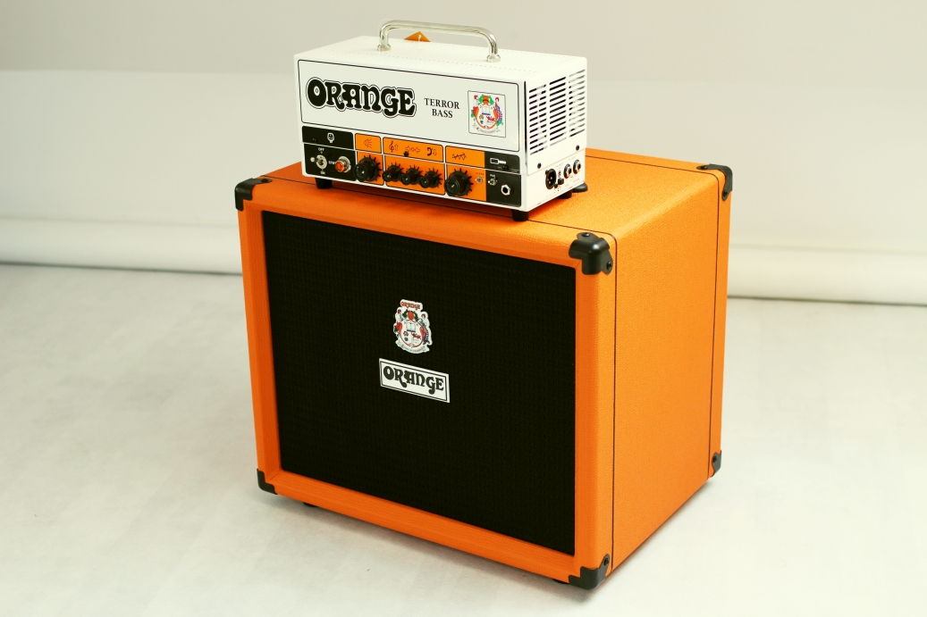 Orange Terror Bass + OBC 112 – test