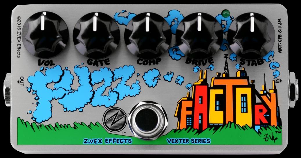 ZVEX Fuzz Factory Vexter – test