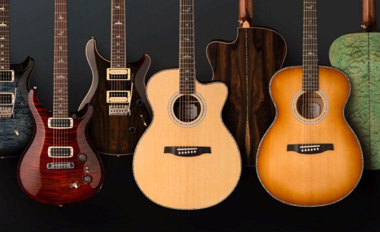 PRS Guitars prezentuje modele na rok 2019