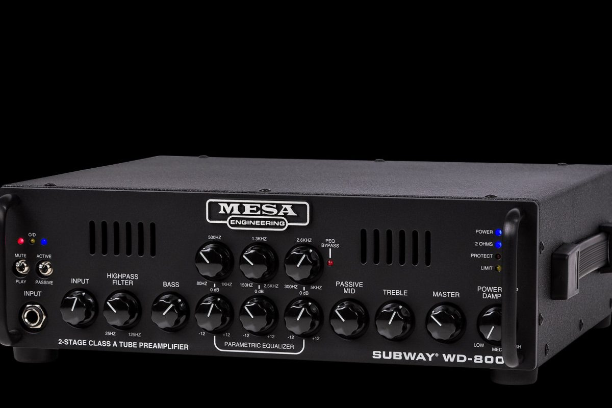 MESA/Boogie Subway WD-800 – nowy wzmacniacz basowy