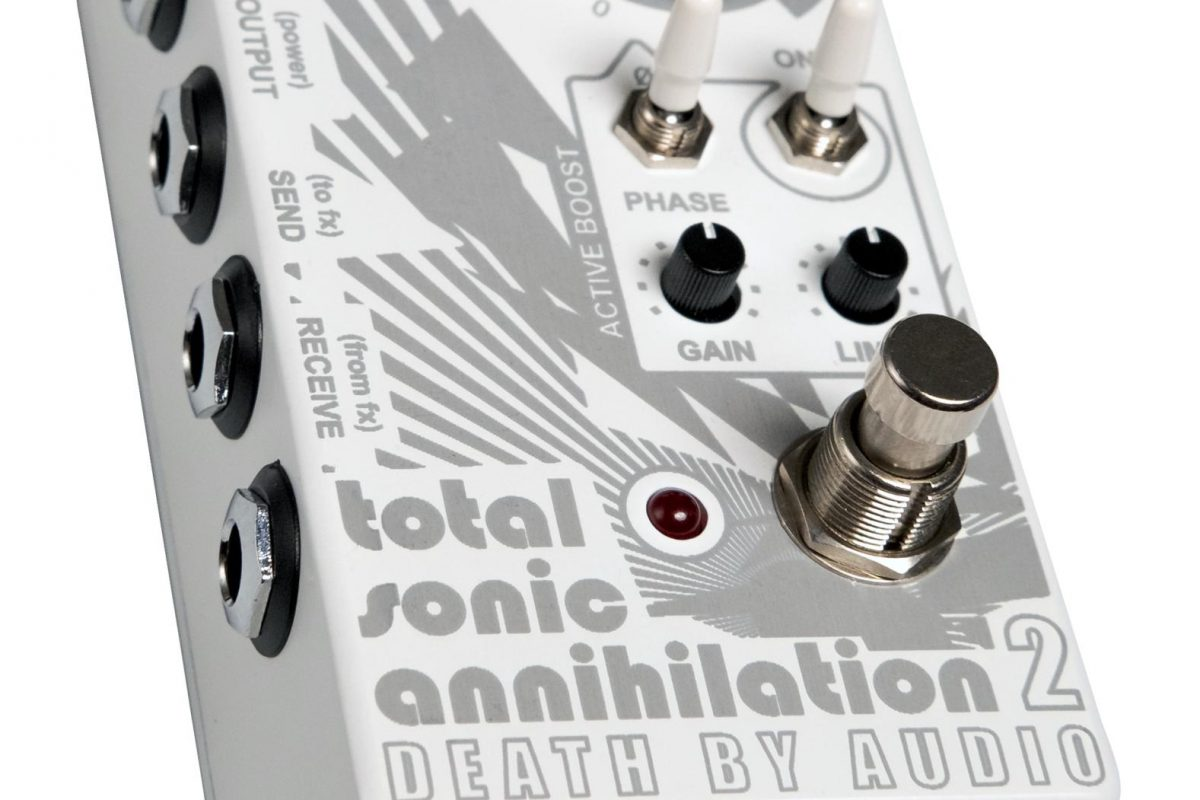 Death By Audio Total Sonic Annihilation 2