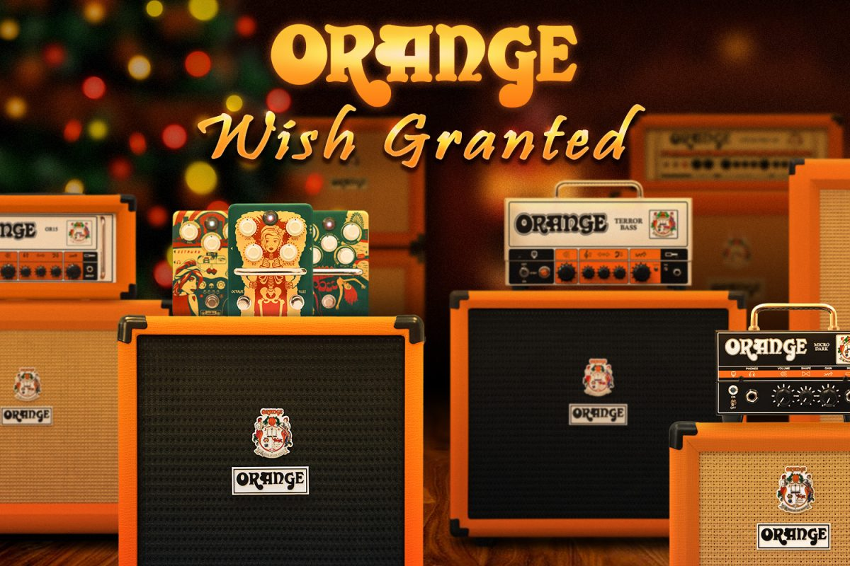 50 życzeń od Orange Amplification na 50-lecie