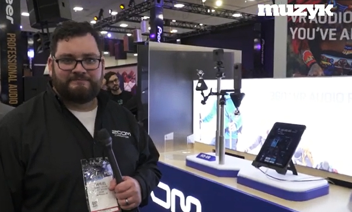 Zoom H3 VR na poczesnym miejscu na NAMM 2019