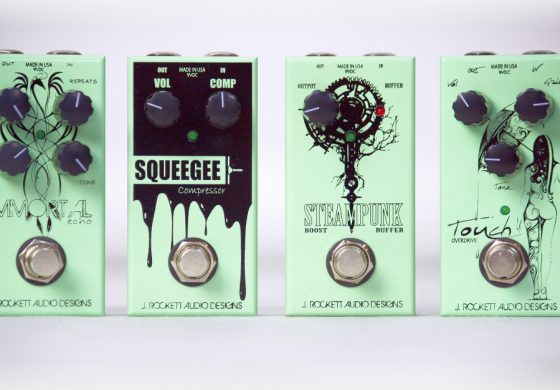 J. Rockett Audio Designs JET Series Touch, Immortal, Squeegee oraz Steampunk