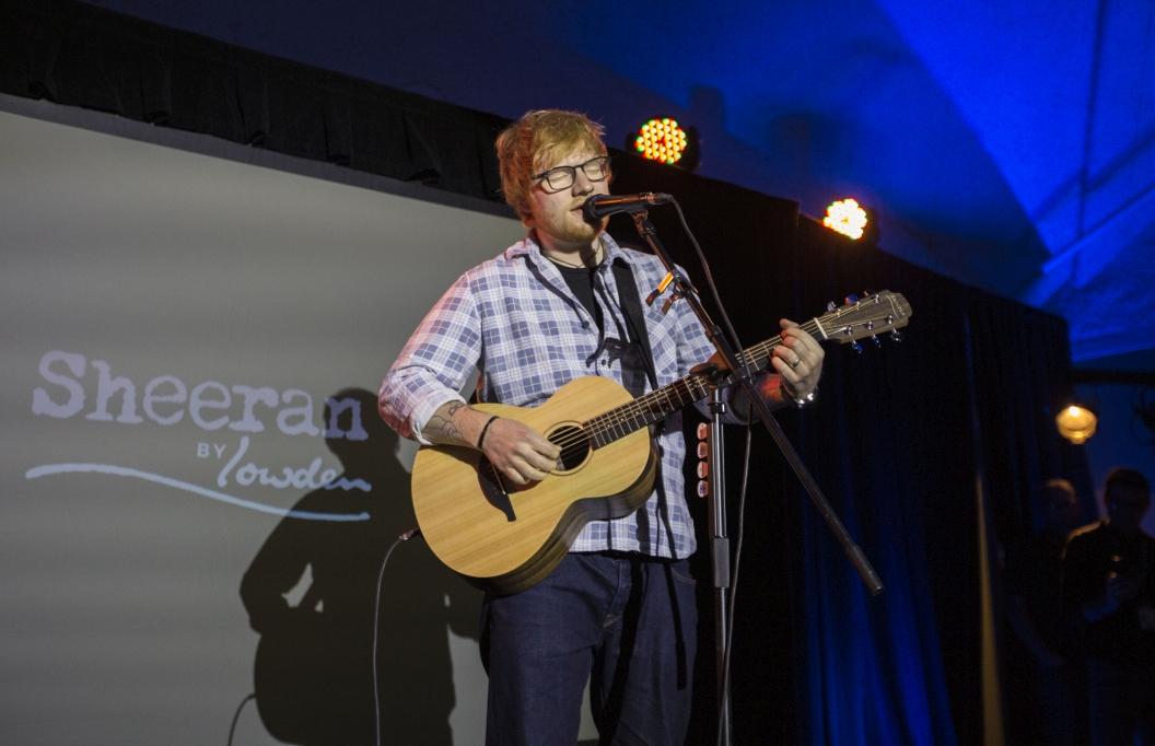 Ed Sheeran zapowiada gitary Sheeran by Lowden
