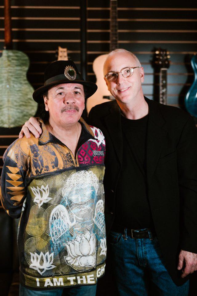 Carlos Santana i Paul Reed Smith