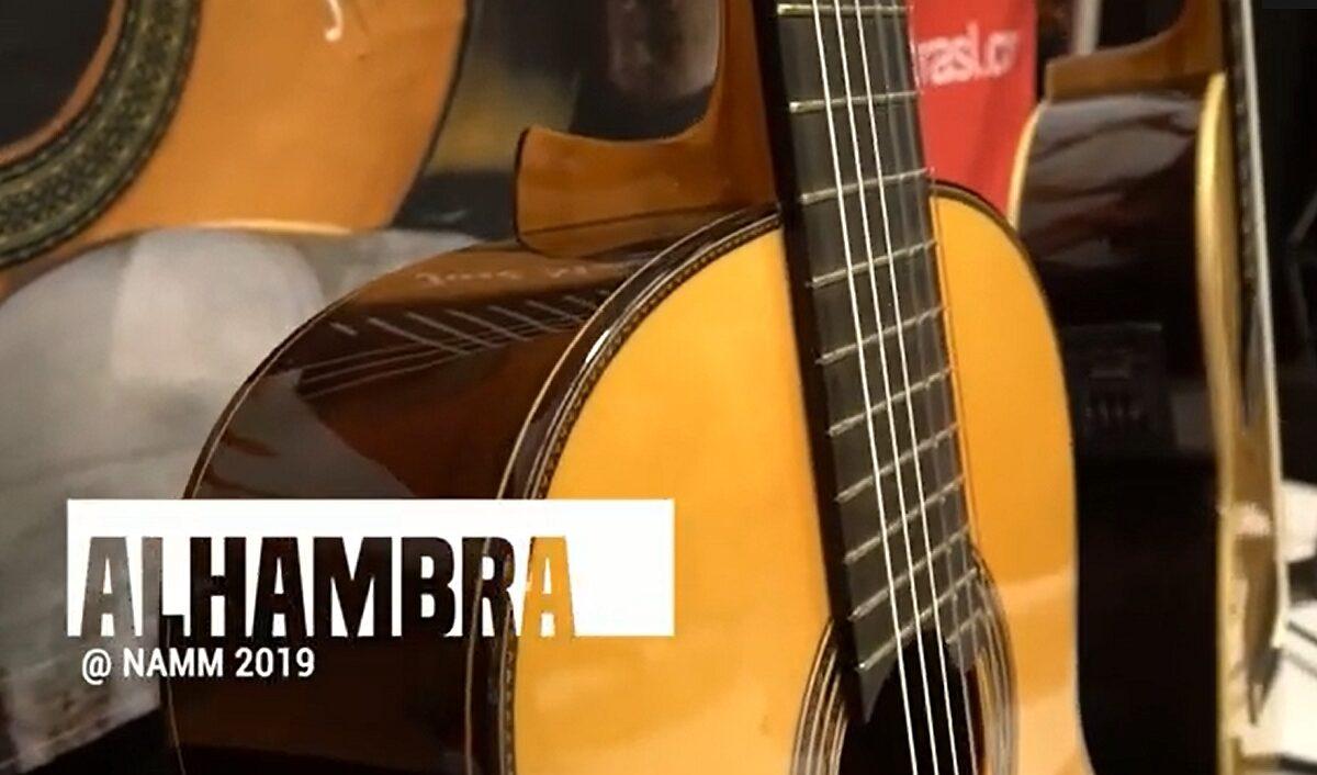 Klasyczne piękności od Alhambra na NAMM 2019