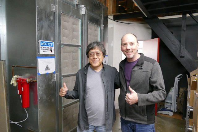 Założyciel Xotic Toshio Horiba i dbający o relacje z artystami Johnny Hawthorn.