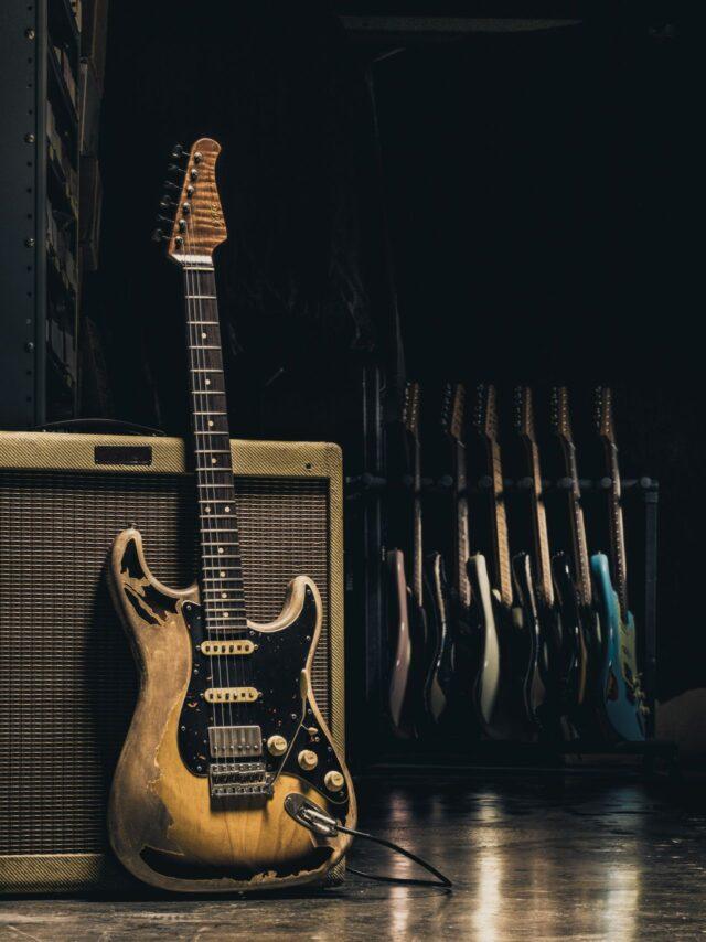 Gitara XSC w wersji postarzenia heavy.