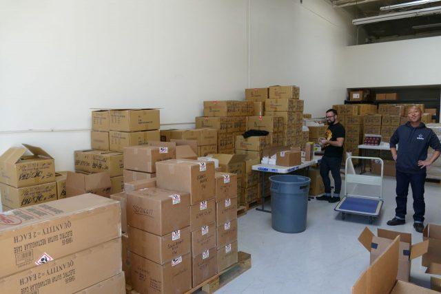 Produkty Xotic gotowe do wysyłki.
