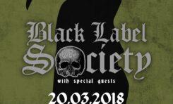 Dwa koncerty Black Label Society