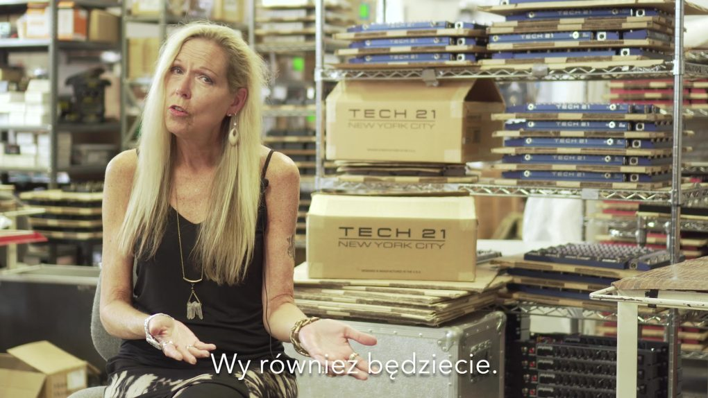 Z wizytą w Tech 21 NYC